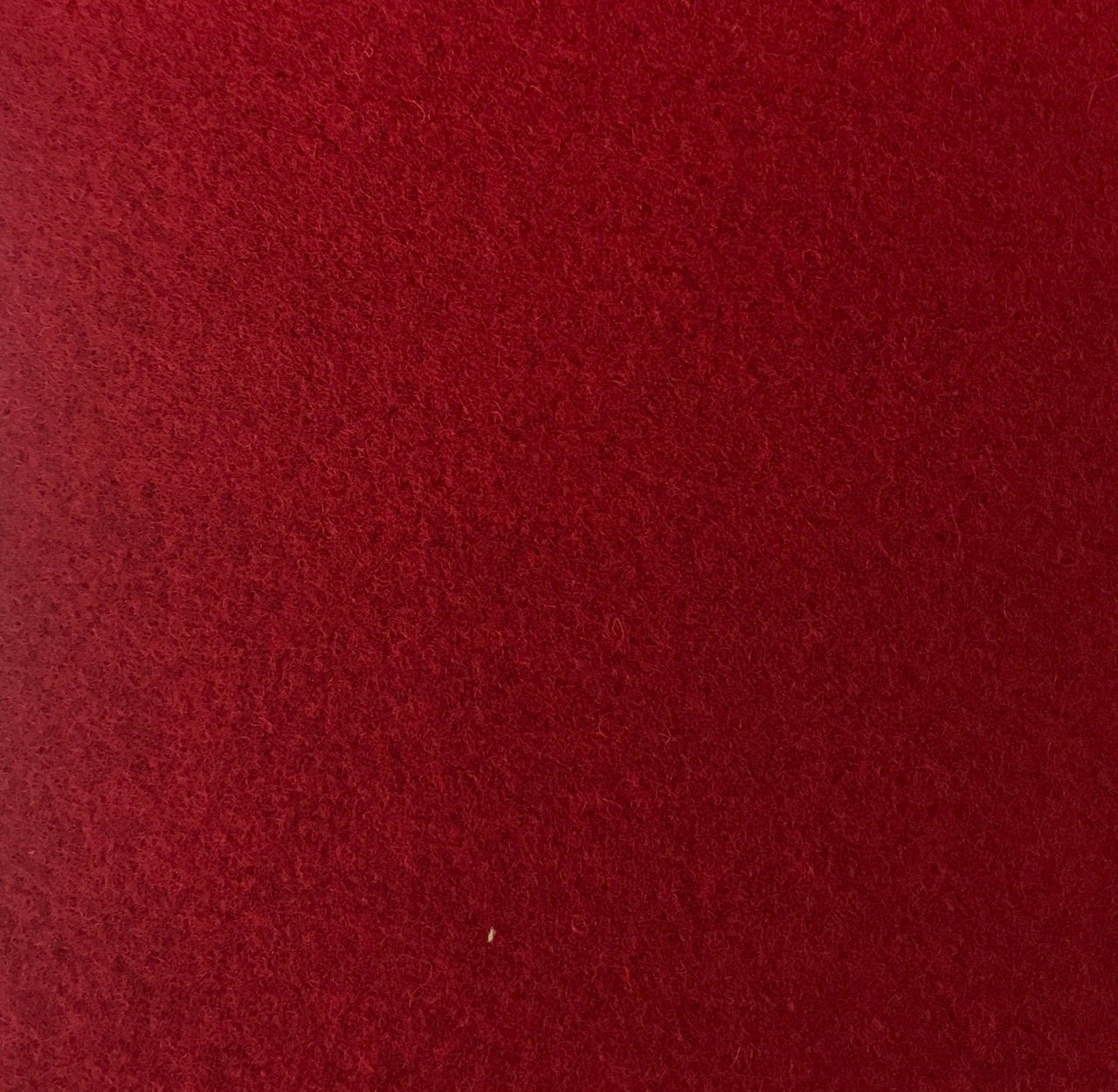 Wool Blend -  Dark Red