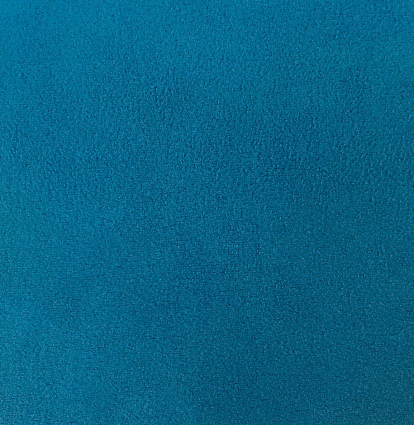 Double Fleece Velour - Turquoise
