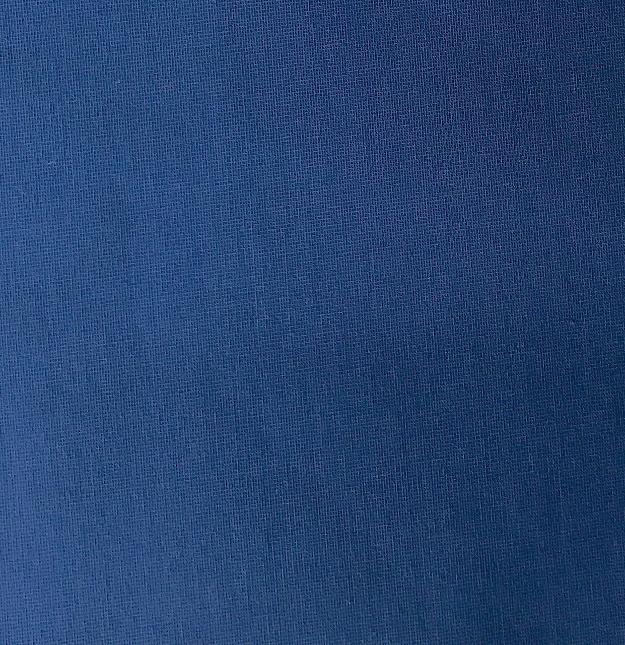 Polyester face/Pile Velour Back w/stretch- Basic Blue