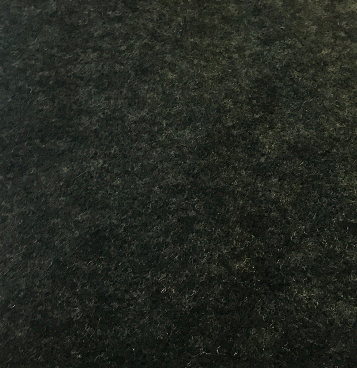 Polyester Wool Blend - Heather Forest Green