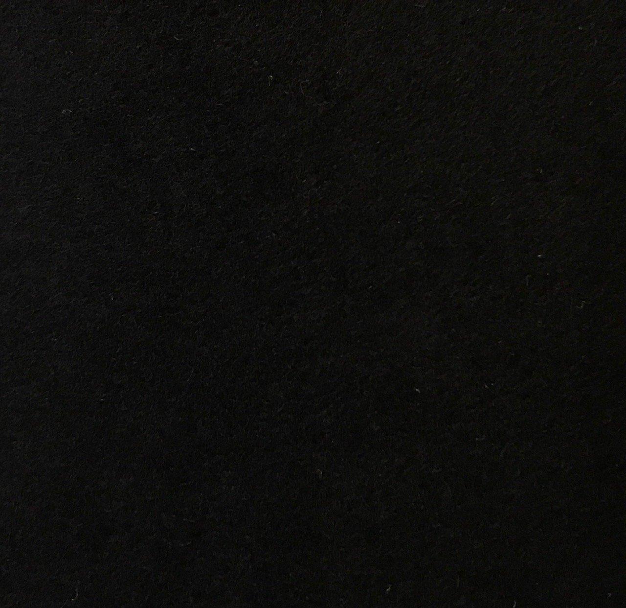 Wool Blend -  Black