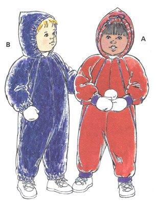 KS2381 - Snowsuit/Windsuit -  Toddlers'