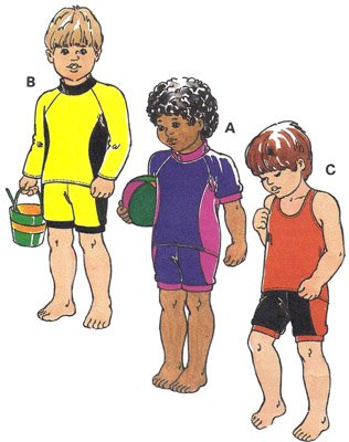 KS2680 - Swimsuits - Toddlers'