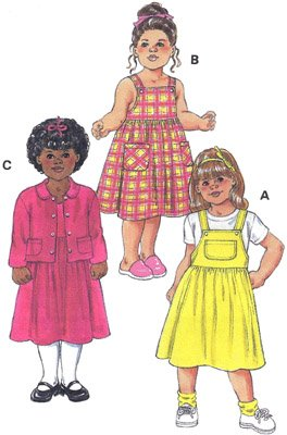 KS2784 - Jumper Dress & Jacket - Toddlers'