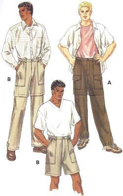 KS2820 - Convertible Pants - Men's
