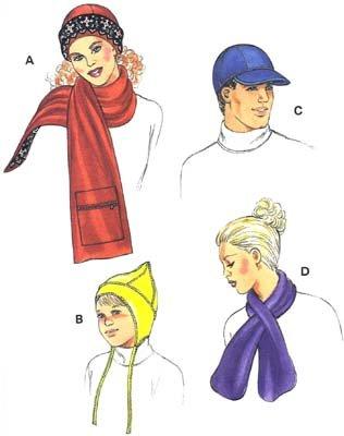 KS2891 - Hats & Scarves - Adult & Children