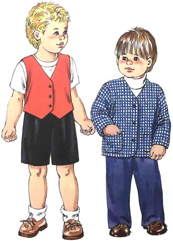 KS3100 - Toddlers' Pants, Shorts, Jacket & Vest