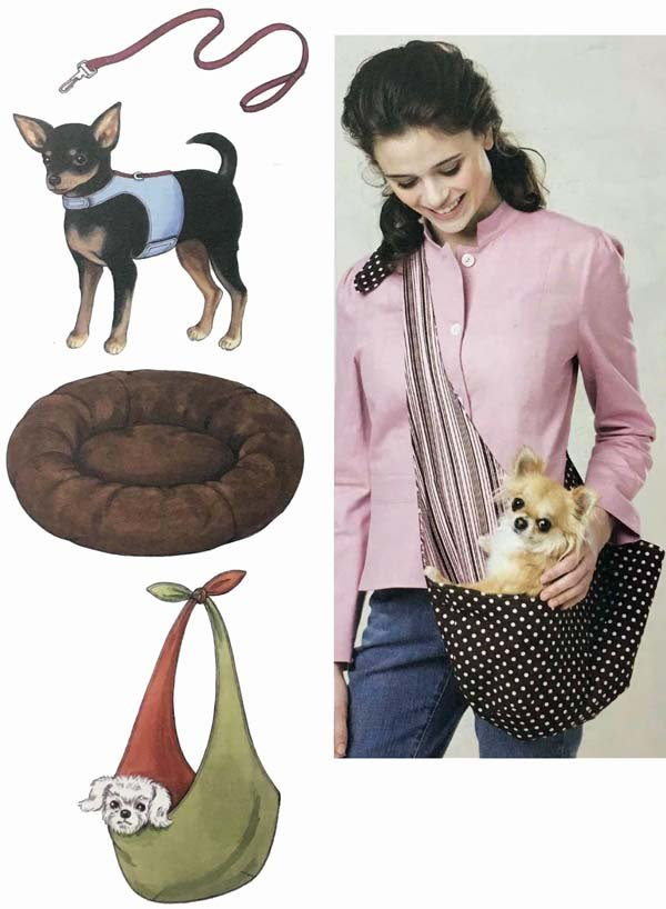 KS3517 - Pet Harness, Leash, Bed & Carrier