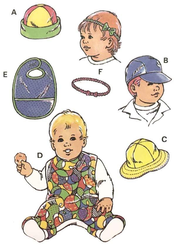 KS2231 - Baby & Toddler Hats & Bibs