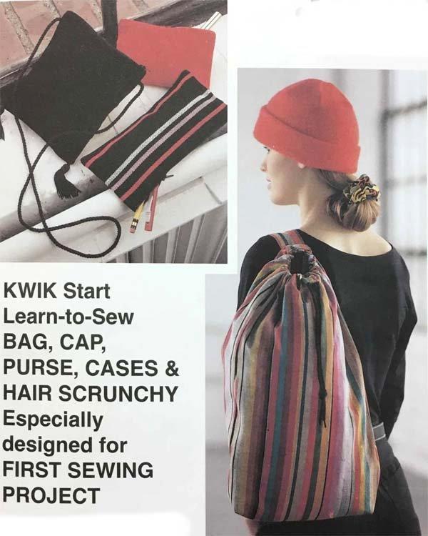 KS2320 - Bag, Cap, Purse, Cases & Hair Scrunchy