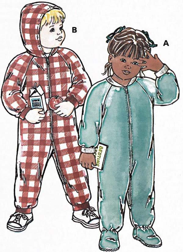 KS2360 - Toddlers' Sleeper & Jumpsuit