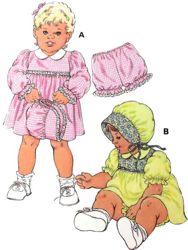 KS2706 - Baby Dresses & Bloomers