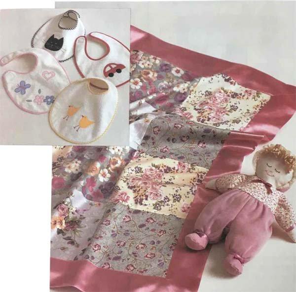 KS2971 - Blanket, Bibs & Doll