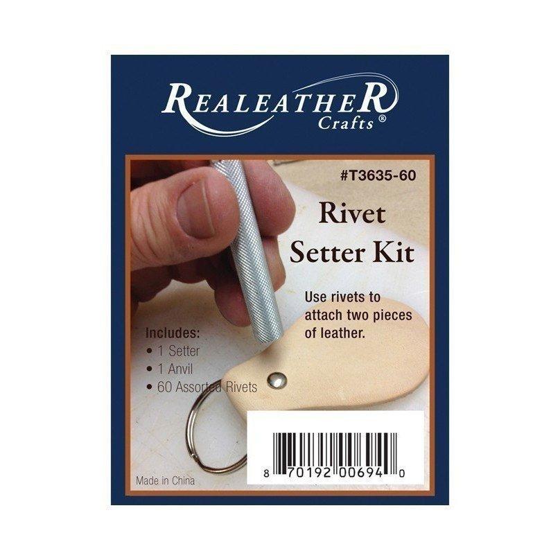 Rivet Setter Kit - 1/4 inch - Assorted
