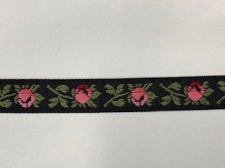 Rose - 1/2 inch - Black