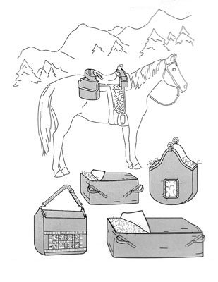 SU7291 - Saddle/Hay Bags