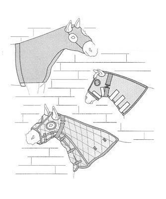 SU7570 - Horse Hood Collection