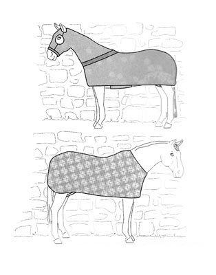 SU7840 - Horse Body Cover/Stretch Sheet