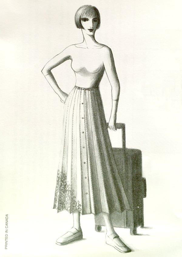The Travel Skirt