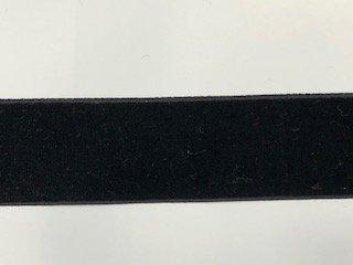 Velvet - 1 inch - Black