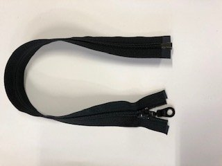 YKK #5 MT 1-Way Separating Zipper - 25 inch - Black