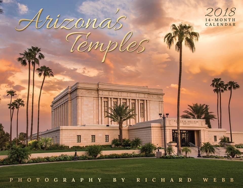 2018 Arizona Temples Calendar