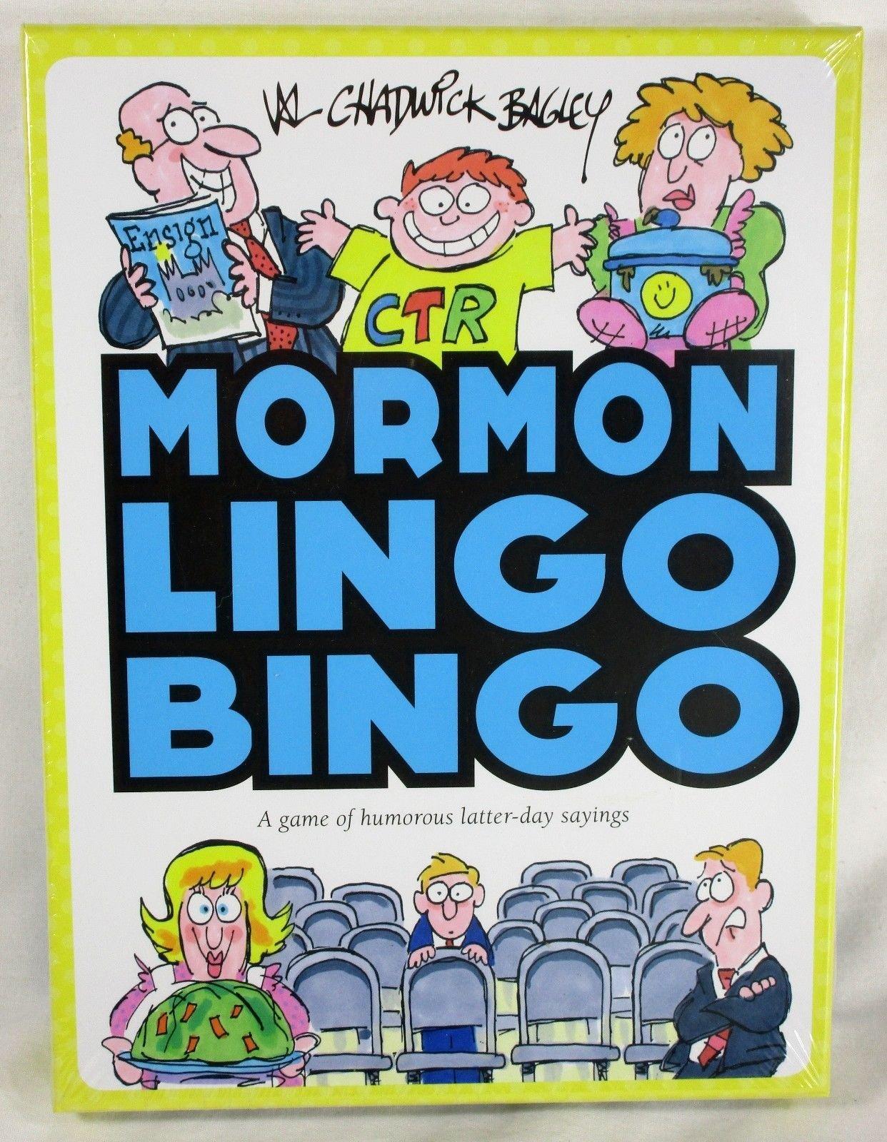 Mormon Lingo Bingo Game