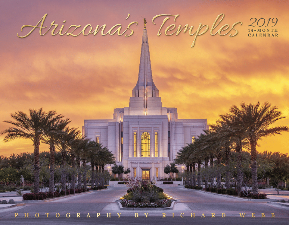 2019 Arizona Temple Calendar