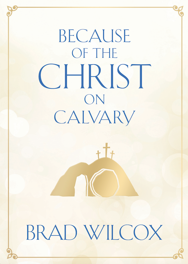 Because of the Christ on Calvary