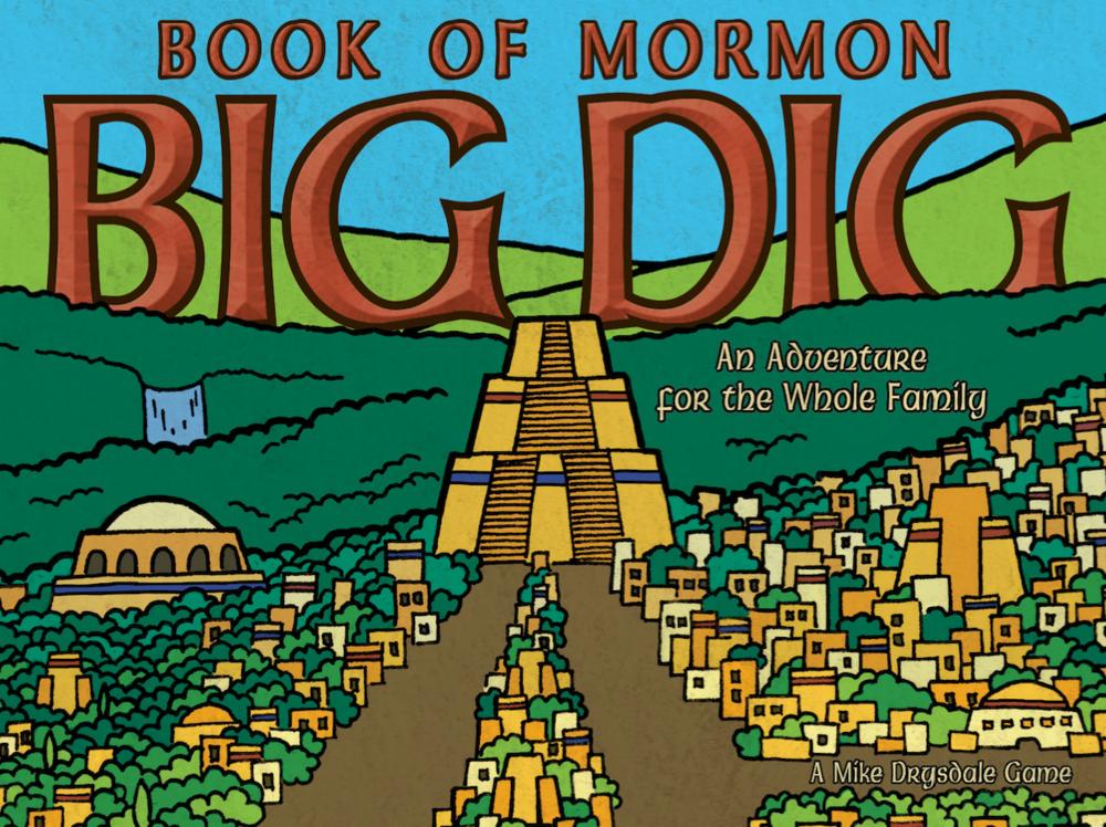 Book of Mormon Big Dig - Game