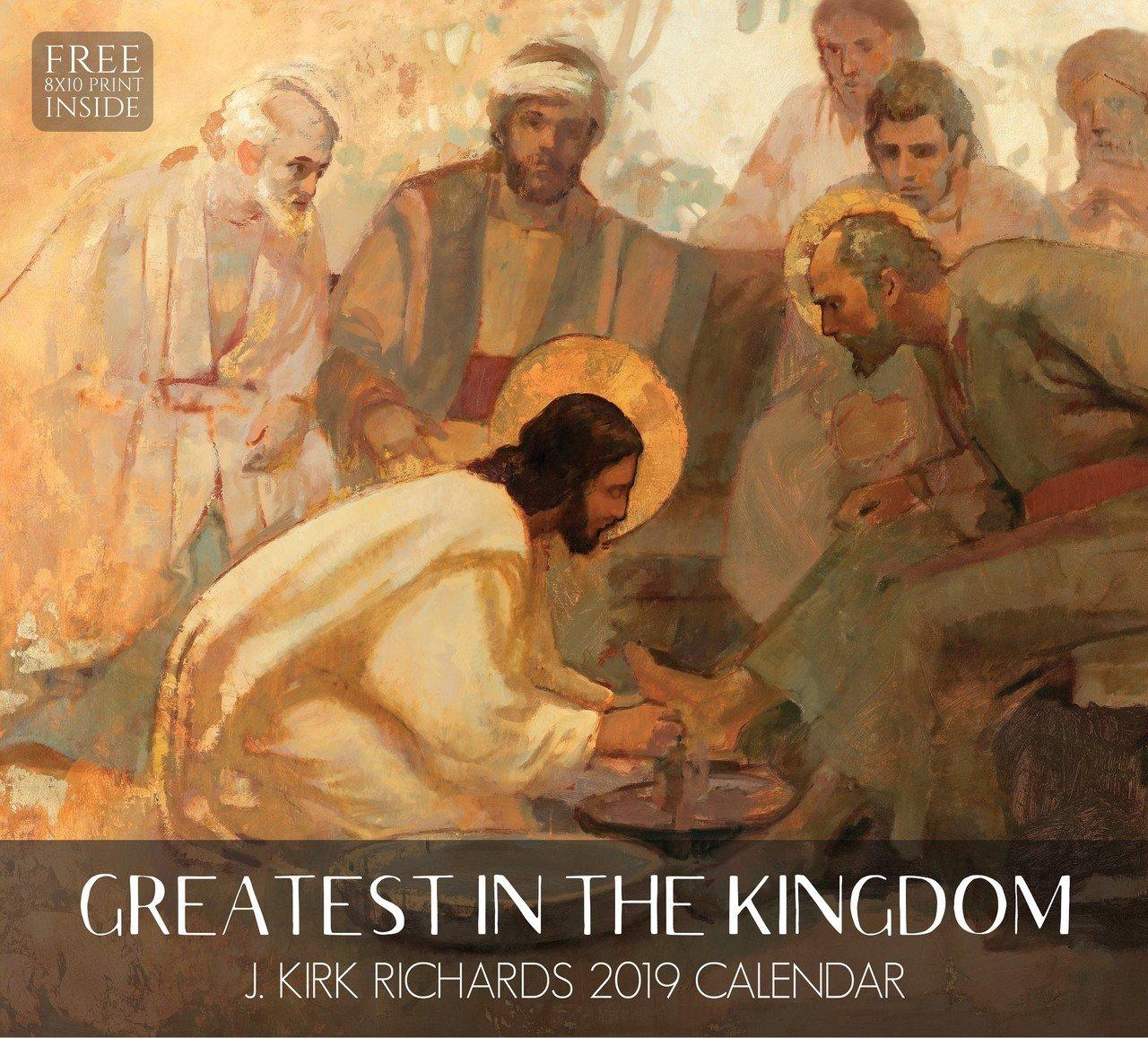 2019 J. Kirk Richards Calendar - Greatest in the Kingdom