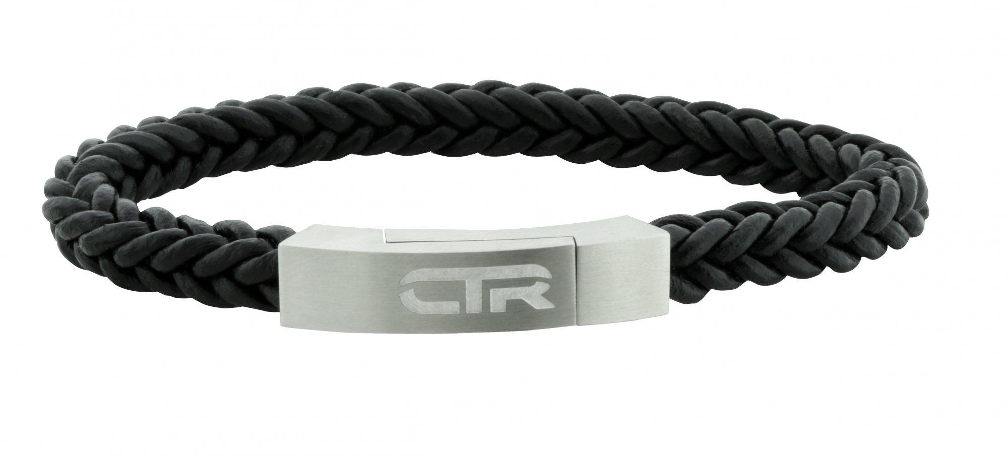 Leather CTR Bracelet Flat Surface