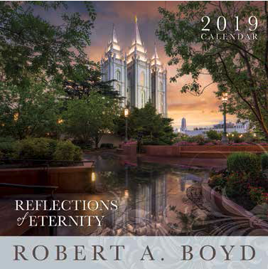 2019 Robert A. Boyd Large Calendar - Reflections of Eternity