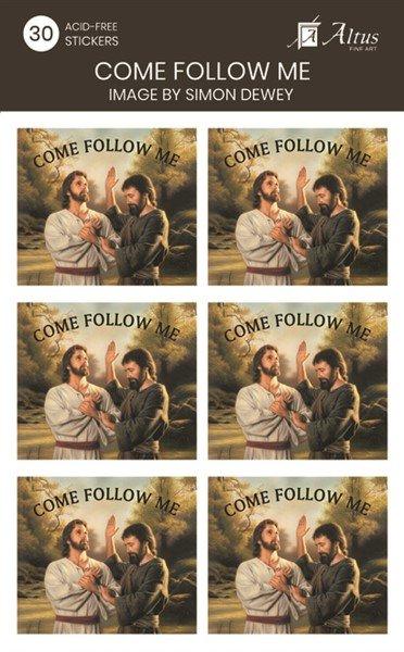 Come Follow Me/Baptism - 30 Stickers