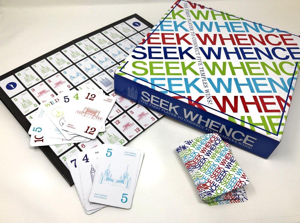 Seek Whence Game