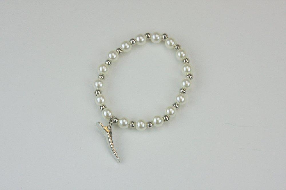 Temple Clip Bracelet - Elegant Pearls