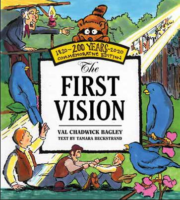 Joseph's First Vision (Boardbook)