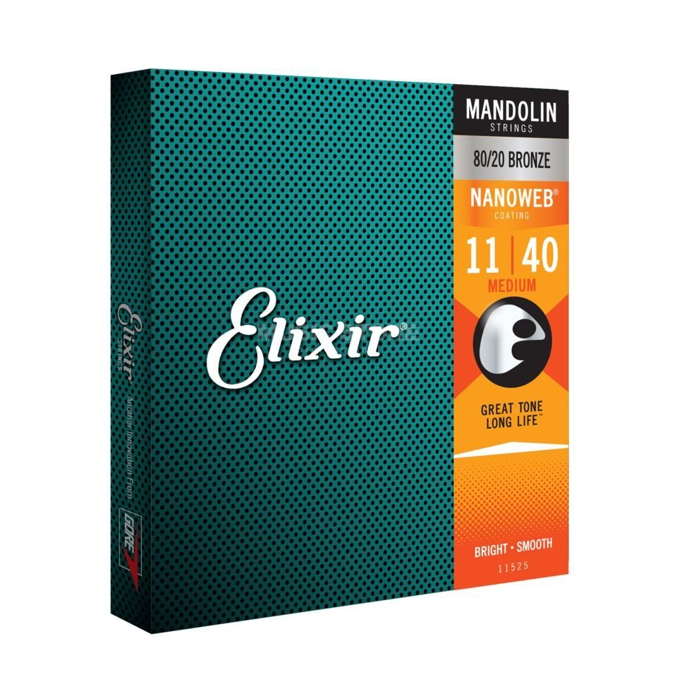 Elixir 11525 Nanoweb Mandolin Strings (11/40)