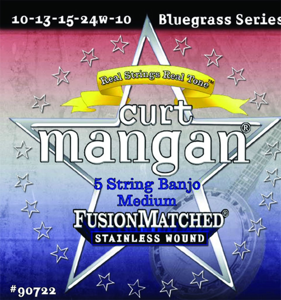 Curt Mangan 90722 Medium Banjo Strings