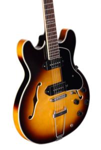 Alvarez AAT32-TSB Jazz & Blues Double Cut Hollow Body