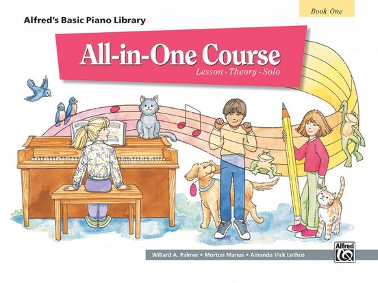Alfred's Basic Piano Library All in One Course Book One
