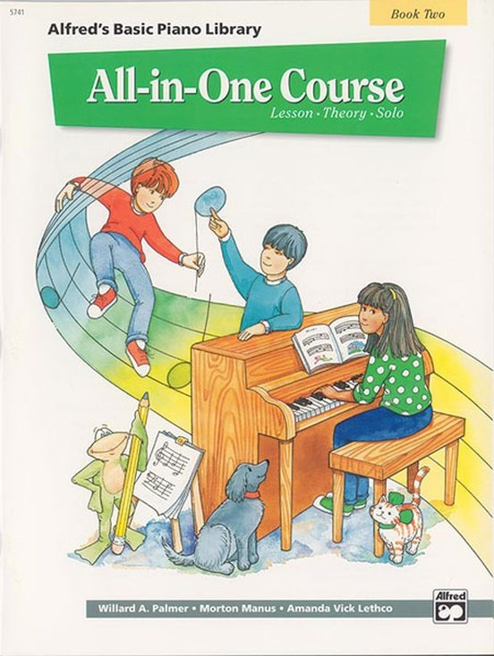 Alfred's Basic Piano Library All in One Course Book Two