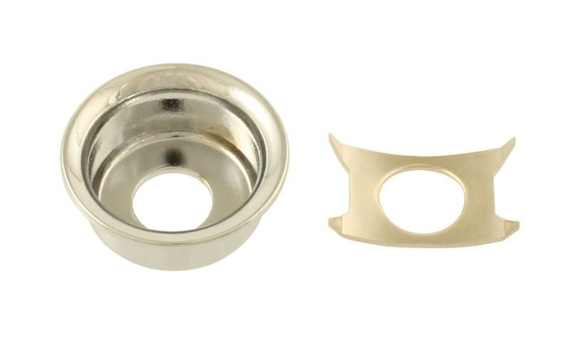 AP-0275-001 Nickel Input Cup Jackplate for Telecaster®