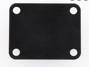 AP-0600-003 Black Neckplate