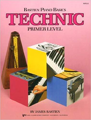 Bastien Piano Basics Technic Primer Book