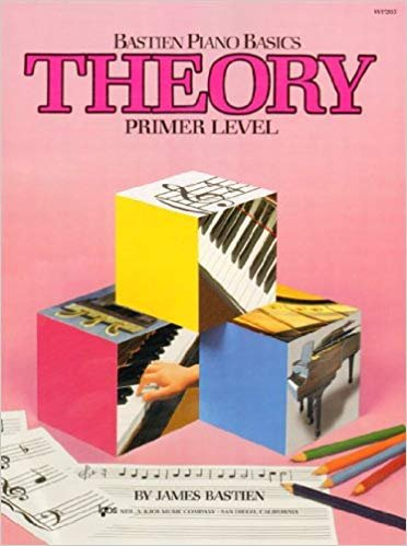 Bastien Piano Basics Primer Theory Book