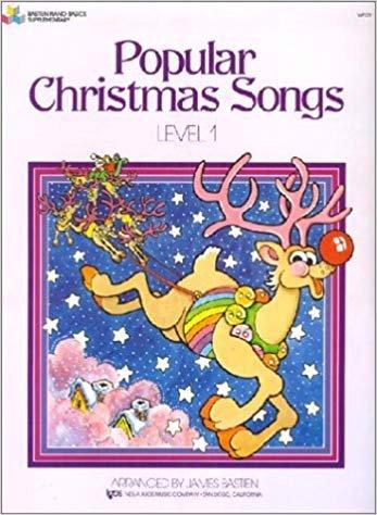 Bastien Popular Christmas Songs (Level 1)