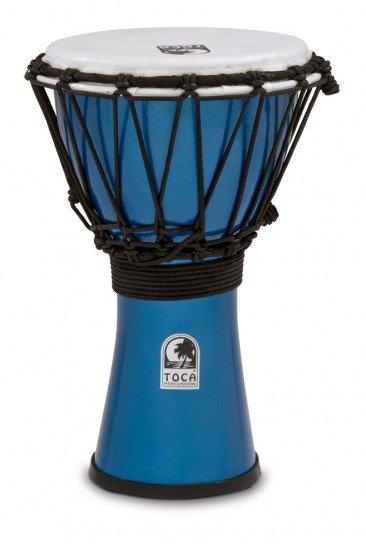 Toca TFCDJ-7MB Colorsound Djembe Blue