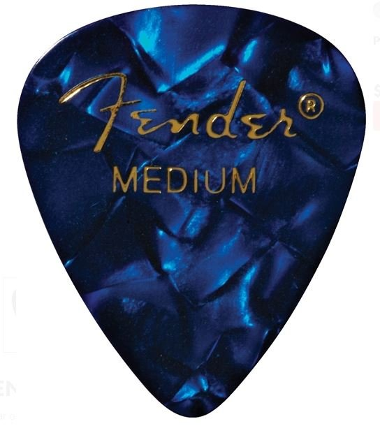 Fender Medium Blue Pick Pack (12)