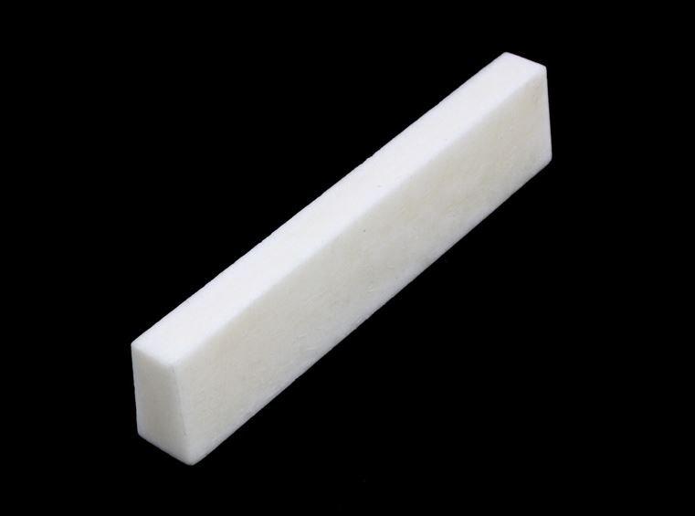 BN-0204-000 Slant Cut Bone Nut Blank